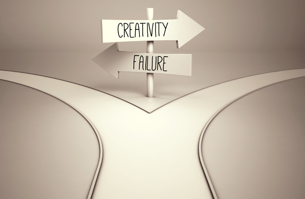 Creativity and Failure Are Twins